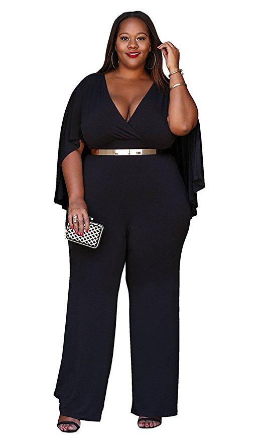 black plus size jumpsuit outfit - black plus size jumpsuit outfit