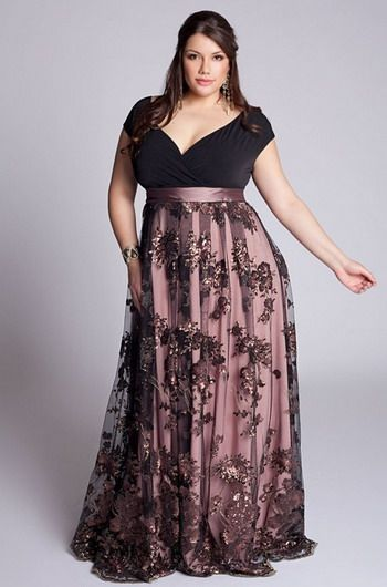 evening plus size outfits 5 best4 - evening-plus-size-outfits-5-best4