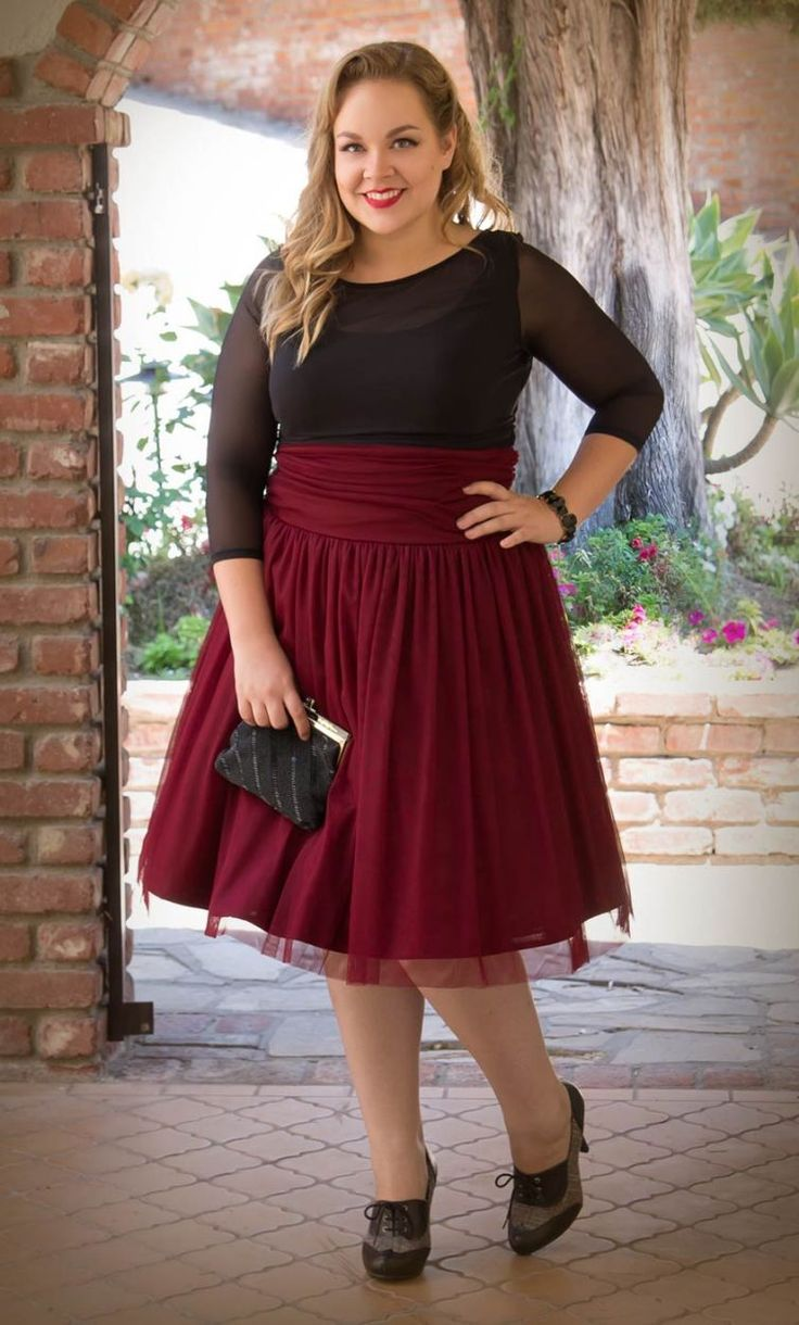Holiday Plus Size Outfits - Page 4 of 5 - curvyoutfits.com