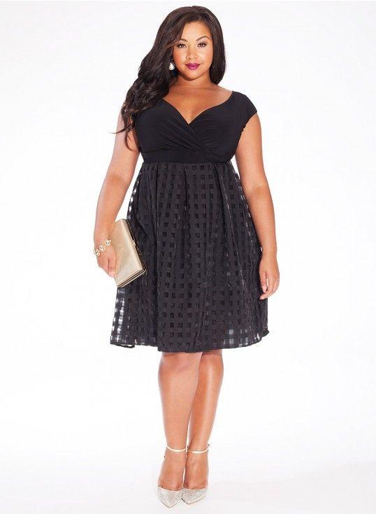 Plus Size Black Dresses Top 5 Page 5 Of 5 Curvyoutfits