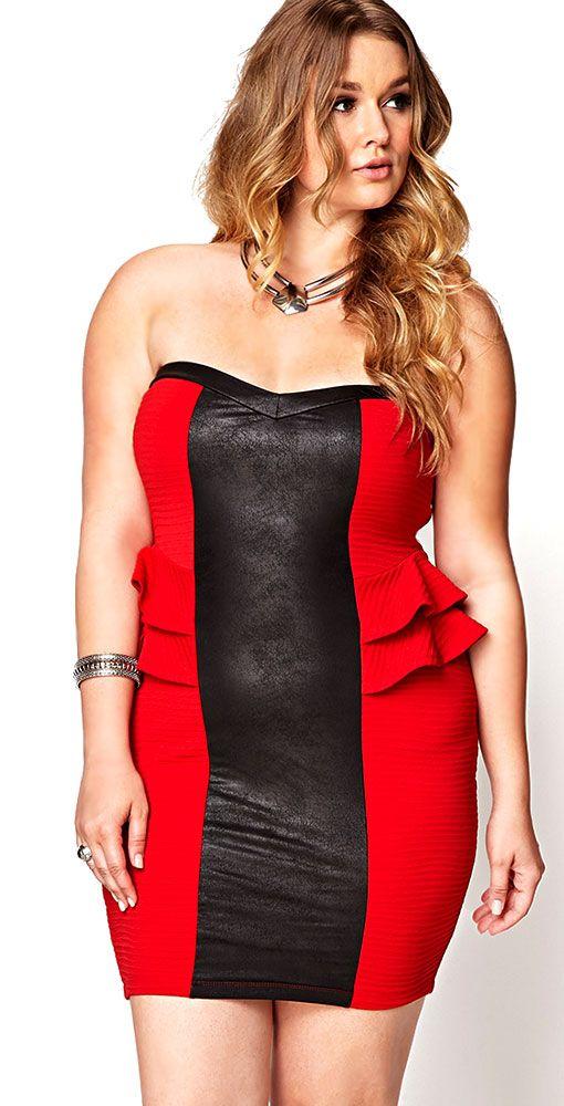 Plus Size Nightclub Dresses - curvyoutfits.com