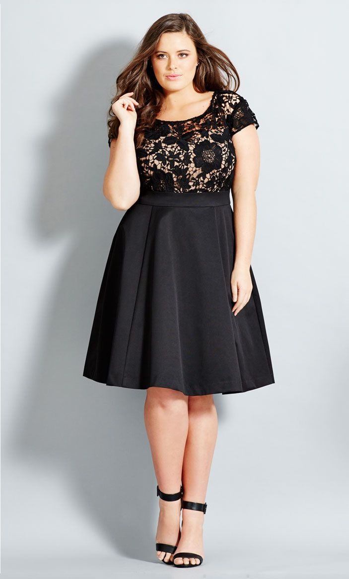 Plus Size Party Wear 5 best outfits - Page 2 of 5 - curvyoutfits.com