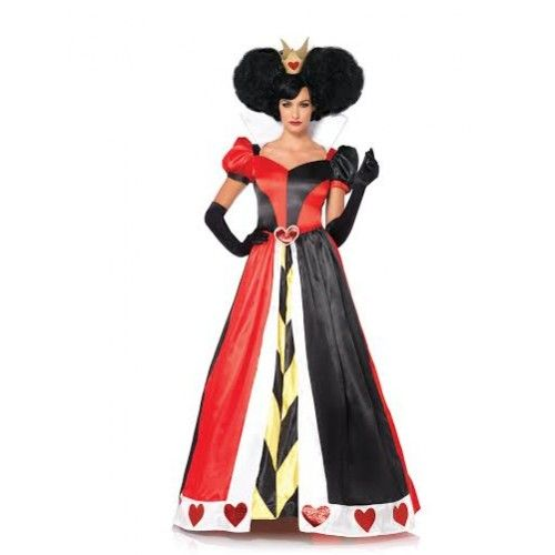 plus size queen of hearts costume1 - plus-size-queen-of-hearts-costume1