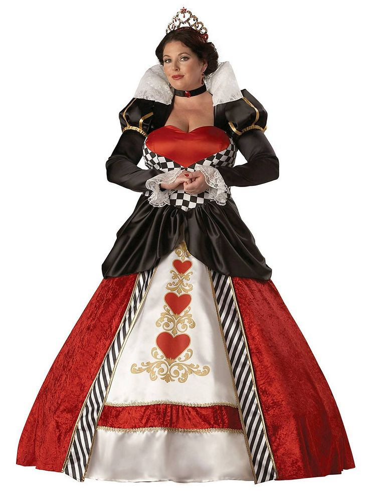 plus size queen of hearts costume2 - plus-size-queen-of-hearts-costume2