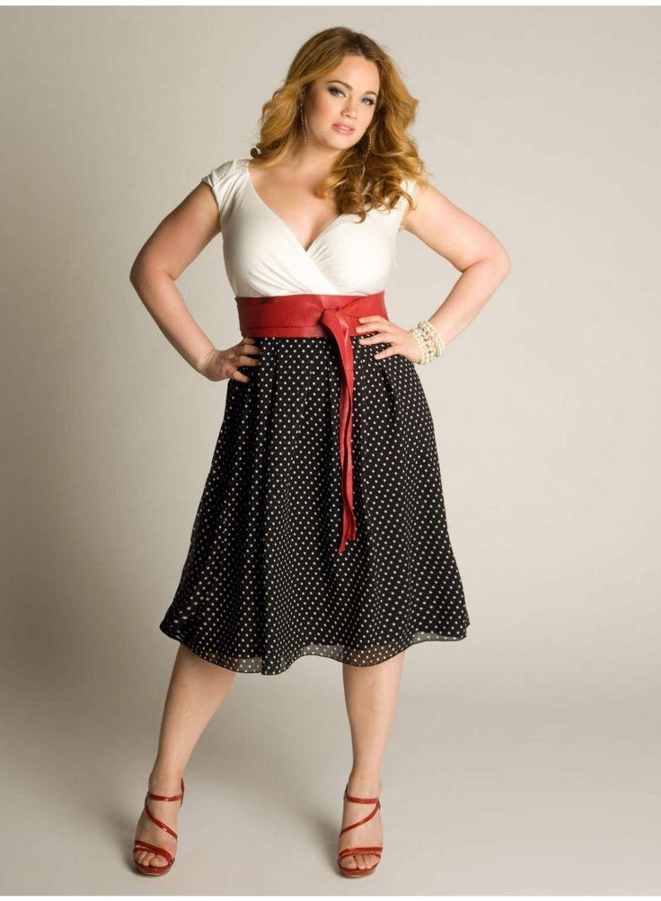 Plus Size Vintage Dresses 5 best - curvyoutfits.com