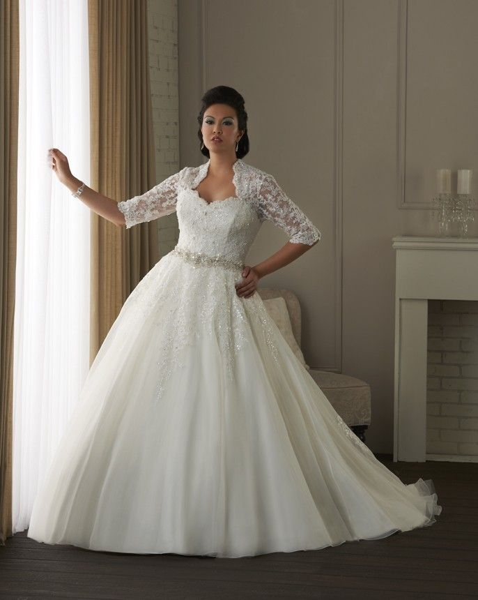 Plus Size Wedding Dresses Ball Gown3
