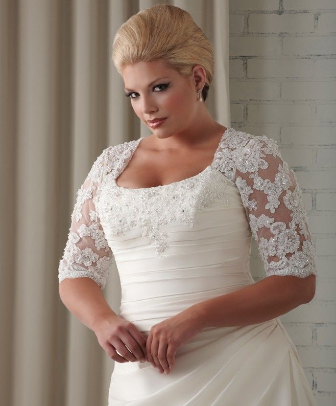Plus size wedding dresses with sleeves - Page 2 of 5 ...