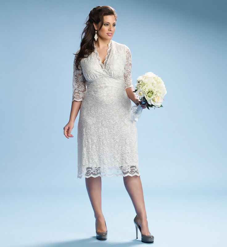 plus size wedding gowns with 34 sleeves4 - plus-size-wedding-gowns-with-34-sleeves4