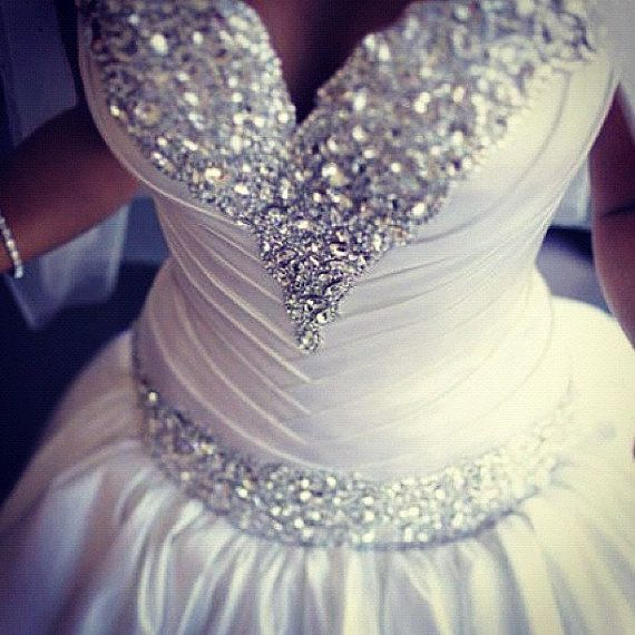 plus size wedding gowns with bling - plus-size-wedding-gowns-with-bling