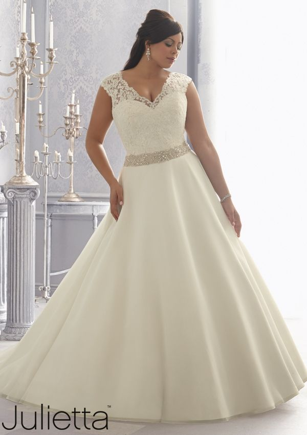 plus size wedding gowns with bling2 - plus-size-wedding-gowns-with-bling2