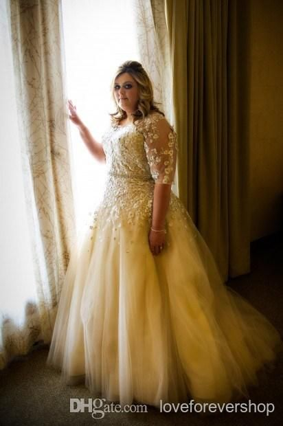 plus size wedding gowns with sleeves1 - plus-size-wedding-gowns-with-sleeves1