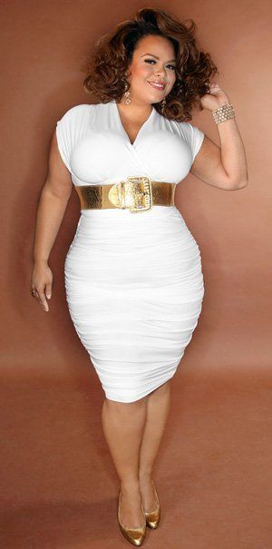 Sexy plus size white dresses for women opinion