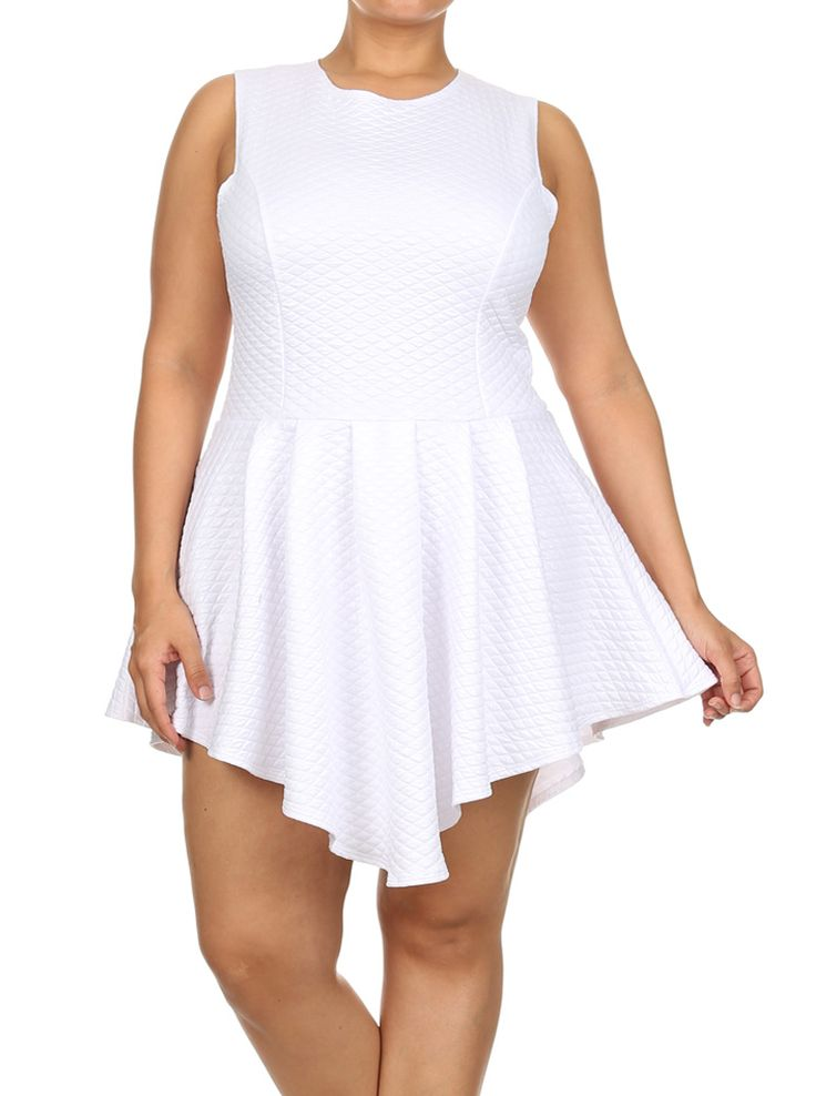 Plus size white dress club wear - Page 4 of 8 - curvyoutfits.com