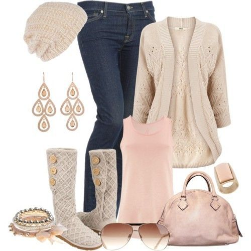 Plus size winter fashion ideas - curvyoutfits.com