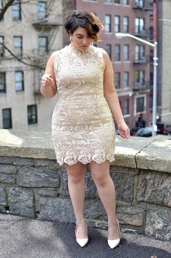 white plus size outfits 5 best - white-plus-size-outfits-5-best