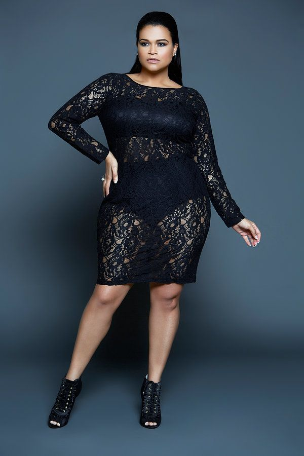 Sexy plus size club clothes