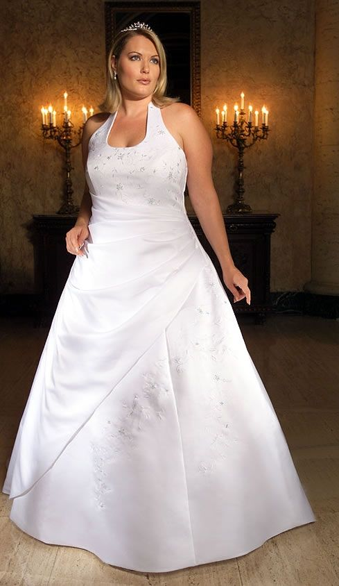 Informal Plus Size Wedding Dresses – Great Choices for Full ...