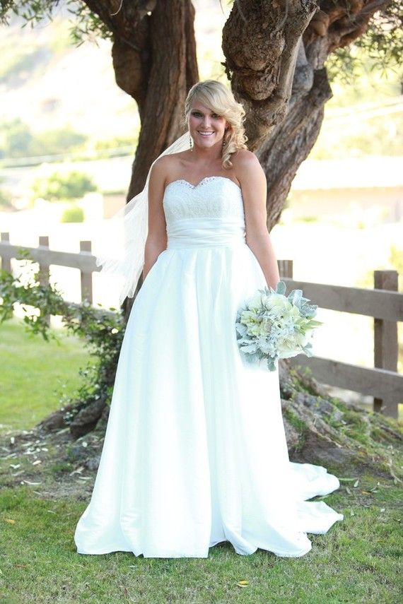 2e522fb9fb Informal Plus Size Wedding Dresses – Great Choices for Full Figured ...