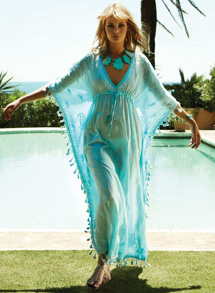 ac63b3479d8f0 Plus size kaftans and cover ups for the beach