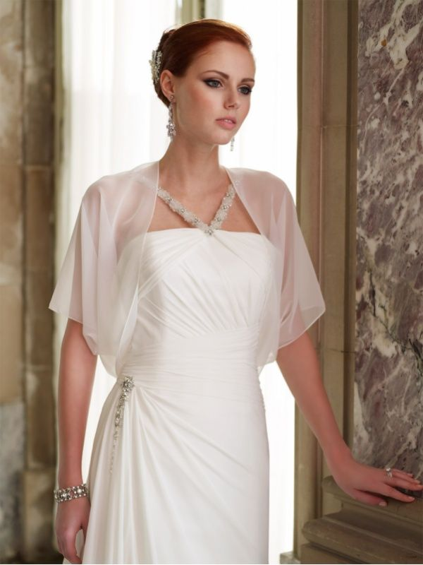 Searching For The Right Plus Size Bridal Jacket