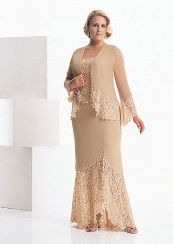 spectacular plus size mother of the bride dresses2 - Spectacular Plus Size Mother Of The Bride Dresses
