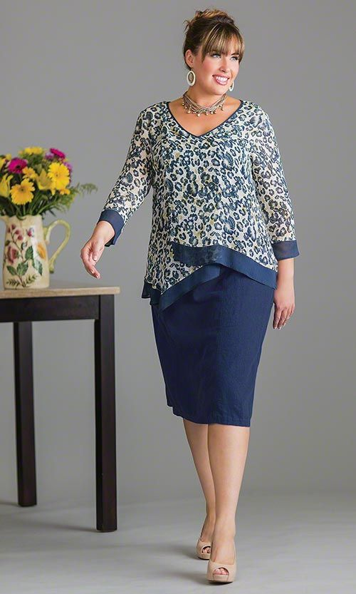 create-great-outfits-with-your-plus-size-blouses