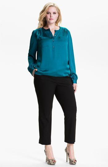 plus-size-satin-blouses-best-outfits