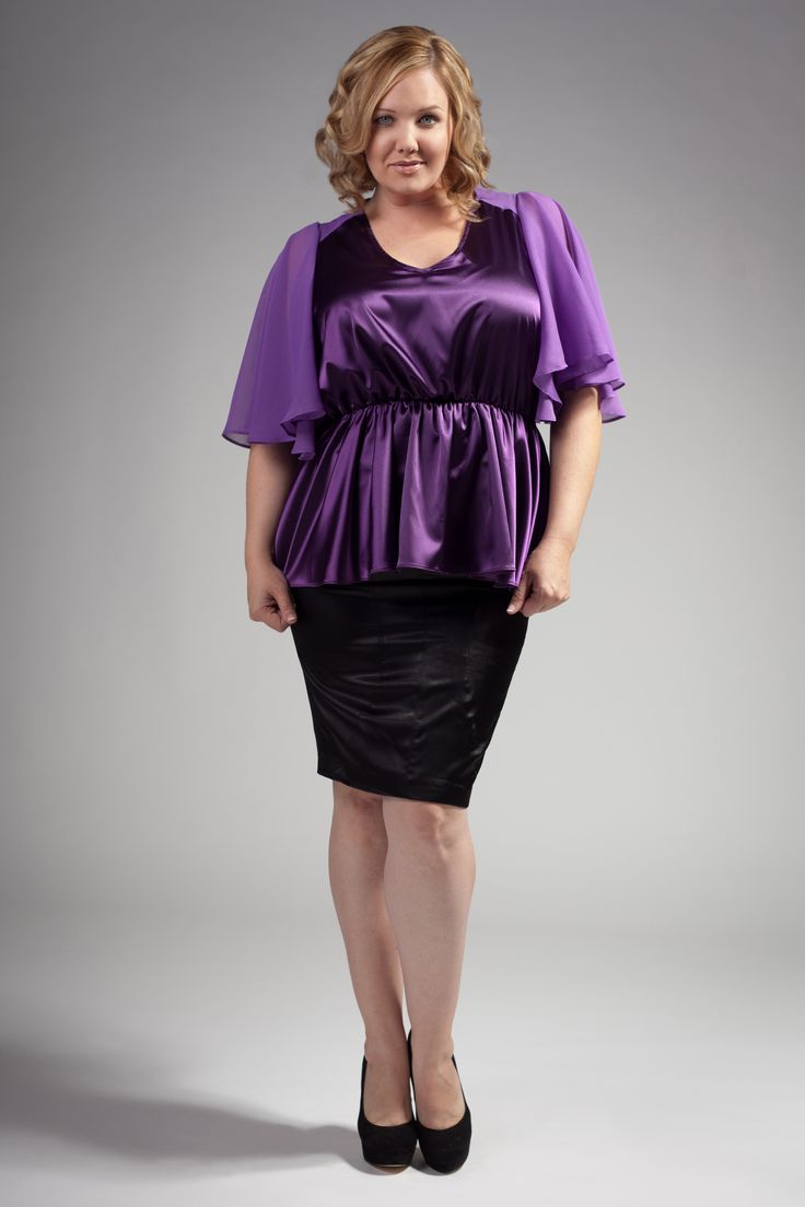 Plus Size Silk Dresses