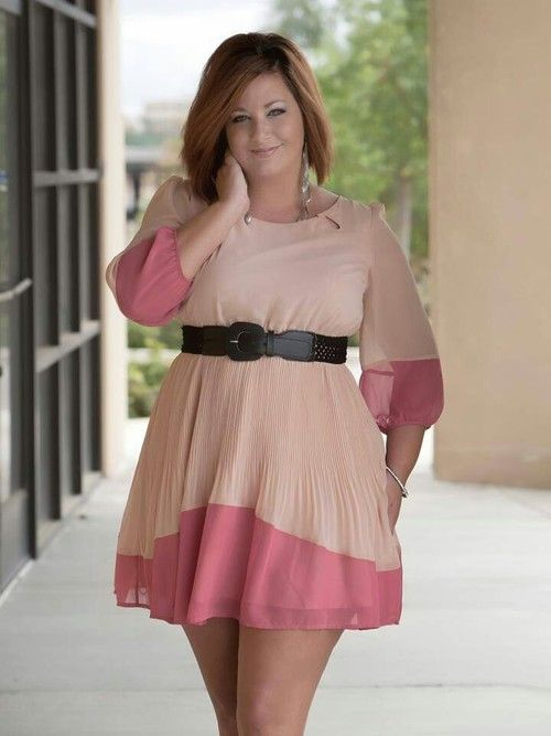 teen-plus-size-dresses-for-tall-juniors2 - curvyoutfits.com