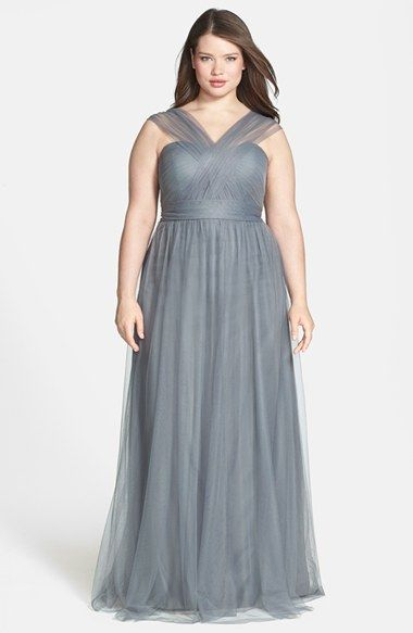 The Best Styles For Plus Size Modest Bridesmaid