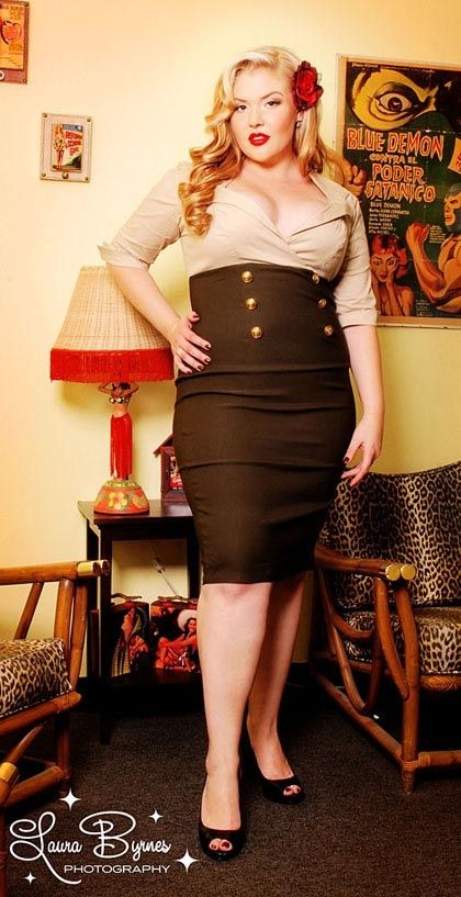 How to Pull Off Plus Size Rockabilly Clothing ...