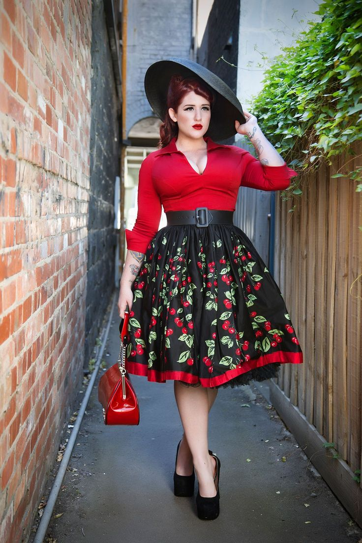 How to Pull Off Plus Size Rockabilly Clothing! - Page 4 of 5 ...