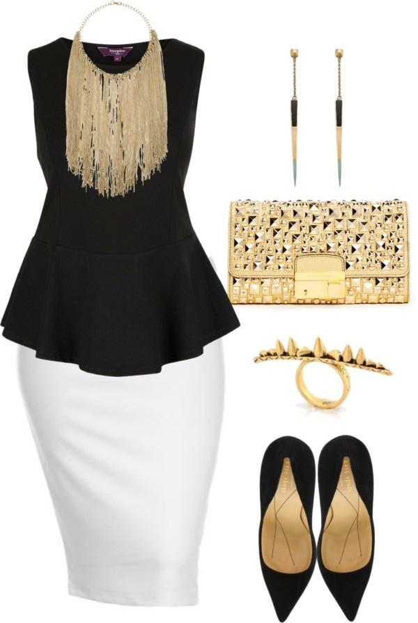Simple Plus Size Outfits - curvyoutfits.com