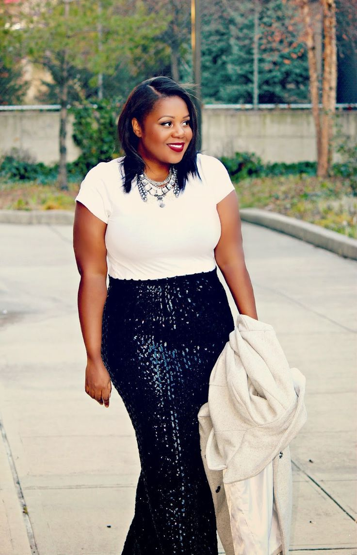 5 glamorous christmas outfits for plus size girls1
