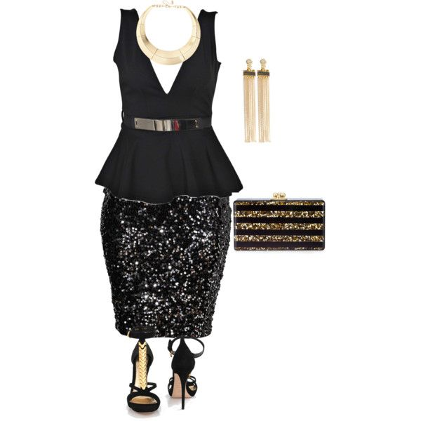 36a64cc432b 5 glamorous Christmas outfits for plus size girls - curvyoutfits.com