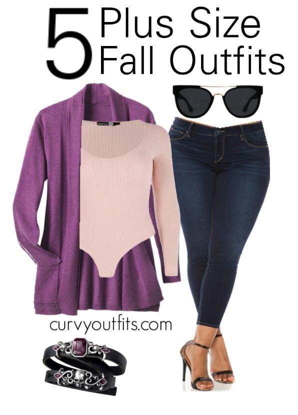 5 plus size fall outfits - 5 plus size fall outfits