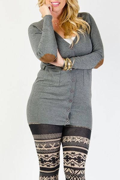 5 plus size outfits with a cardigan 5 - 5 plus size outfits with a cardigan 5