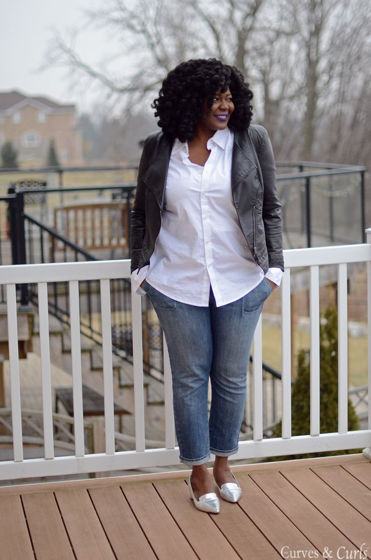 Biggest Fashion Trends 2012: 5 Ways To Wear A Leather Jacket For Curvy Girls That You