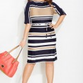 5 ways to wear a plus size striped dress that you will love3 120x120 - 5 ways to wear a plus size striped dress that you will love