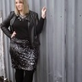 5 plus size christmas outfits with leather jacket that you will love 120x120 - 5 plus size Christmas outfits with leather jacket that you will love