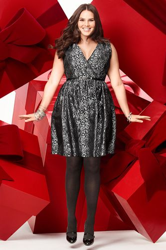 5 Plus Size Dresses For Christmas Dinner 2 Curvyoutfits