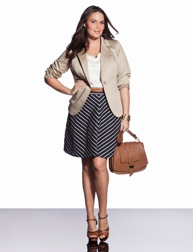 5 Plus Size Outfits For A Job Interview - Curvyoutfits.com