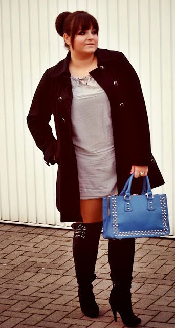 5 feminine ways to wear over the knee boots as a plus size ...
