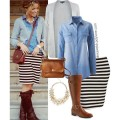 5 ways to wear a denim shirt that you will love3 120x120 - 5 ways to wear a denim shirt that you will love