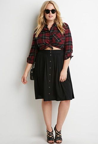 5-ways-to-wear-a-plus-size-a-line-skirt-that-you-will-love-1