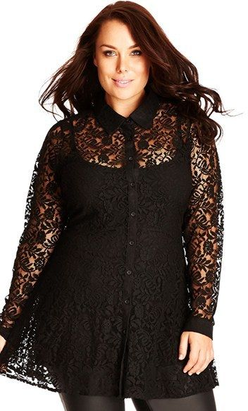 5 ways to wear a plus size lace top that you will love 4 - 5-ways-to-wear-a-plus-size-lace-top-that-you-will-love-4