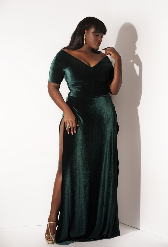 5 ways to wear a plus size velvet dress for the new years eve 3 - 5 ways to wear a plus size velvet dress for the New Year's Eve