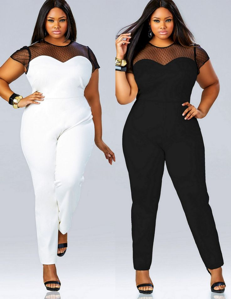 5 Ways To Wear A Plus Size White Jumpsuit Without Looking Frumpy