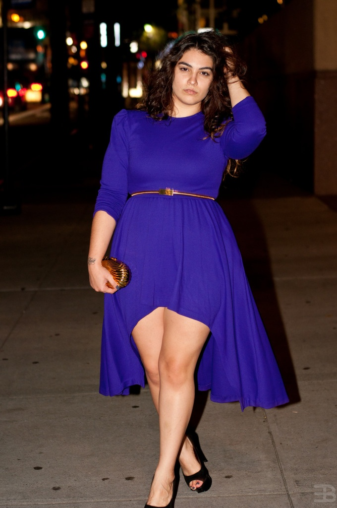 5 ways to wear blue electric dresses at christmas parties 3 - 5-ways-to-wear-blue-electric-dresses-at-christmas-parties-3