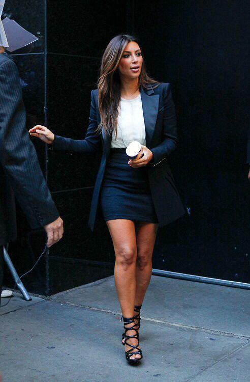 94d4012168d How to copy Kim Kardashian s sexy style - curvyoutfits.com